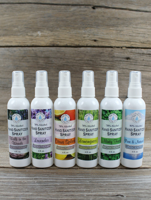 6 pack sampler Fine Mist Spray