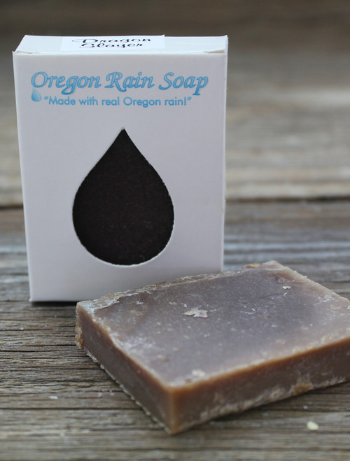 Travel size soap Mild cleansing bar soap Made with real Oregon rain! Made in Oregon, USA