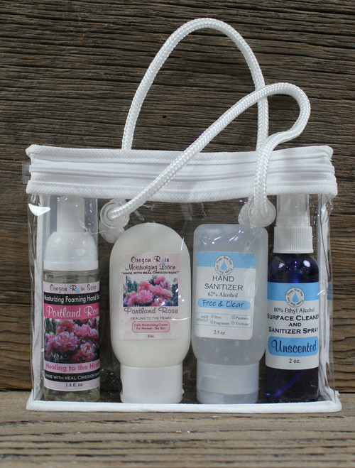 Foaming Soap, Moisturizing Lotion Unscented Hand Sanitizer Gel, Unscented Surface Cleaner and Sanitizer