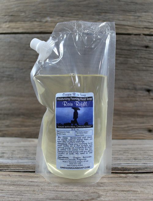 Sodium Lauryl Sulfate Free Moisturizing and Cleansing Soy Free - Dye Free - Phthalate Free Made in Oregon, USA