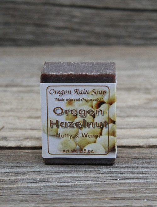 Oregon Hazelnut - mild & extra moisturizing with ground hazelnuts & hazelnut oil Made in Oregon, USA