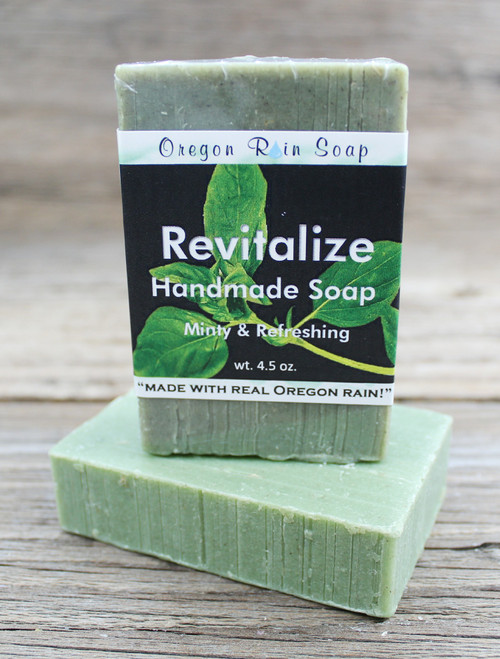 Revitalize - mild cleansing bar soap Made with loofah for an great exfoliant 100% Naturally Scented