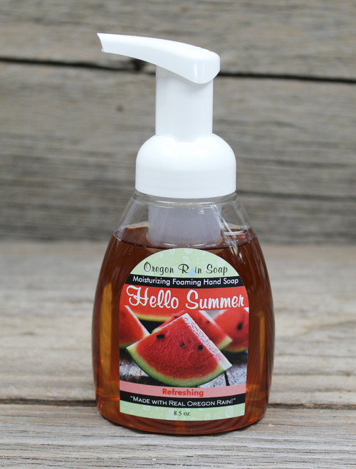 Watermelon scented Sodium Lauryl Sulfate Free Made in USA Pacific Northwest