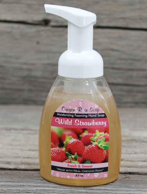 Moisturizing and Cleansing Sodium Lauryl Sulfate Free Paraben Free Made in the Pacific Northwest, near Portland, Oregon