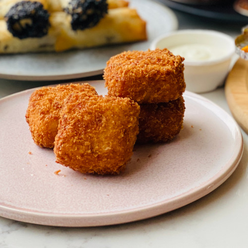 Jamon & manchego croquettes (4 per serve)