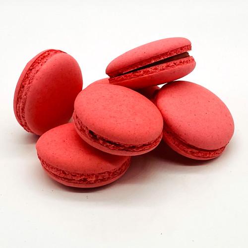 Ruby Chocolate Macarons