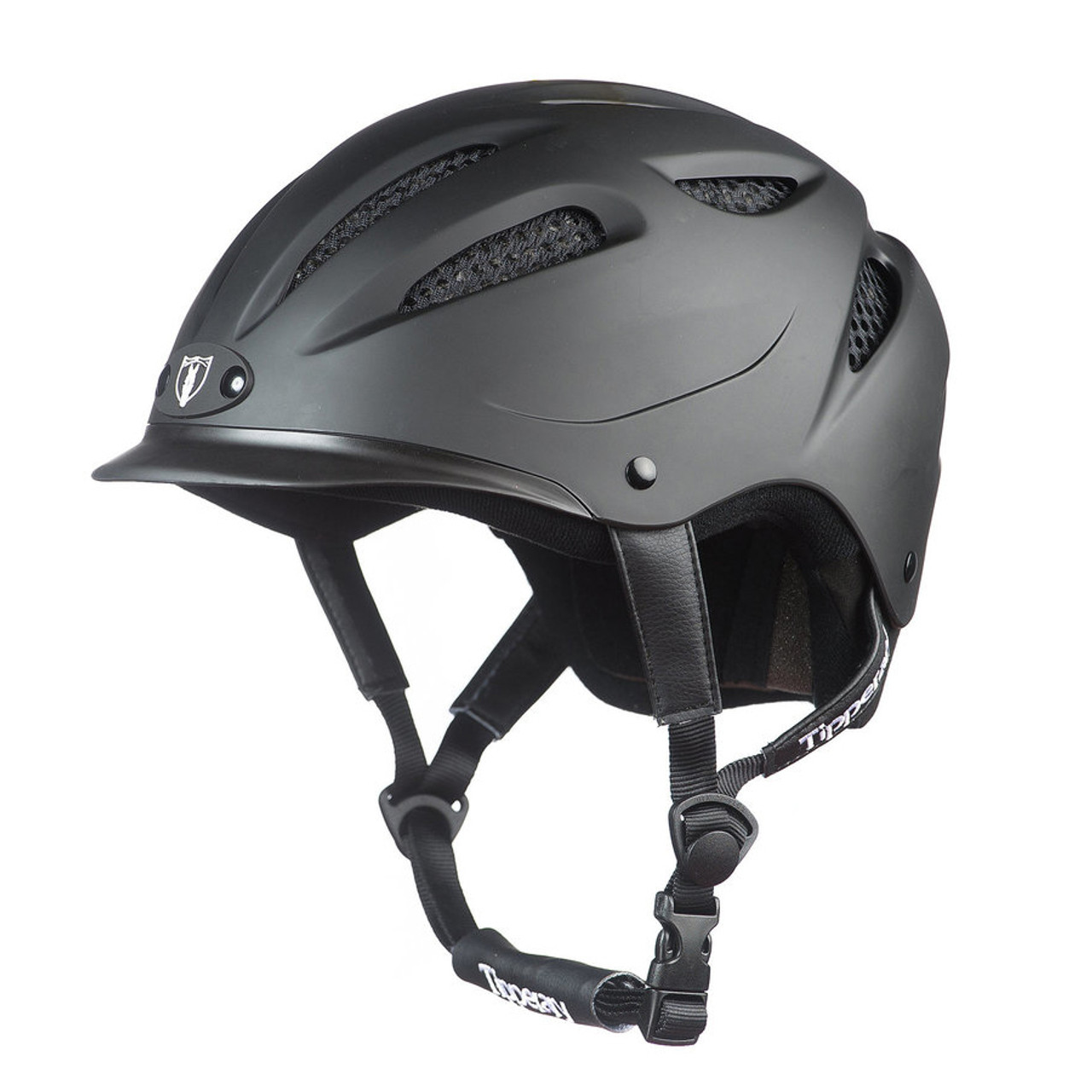 Cocoa Brown Tipperary Sportage 8500 Riding Helmet Extra Small