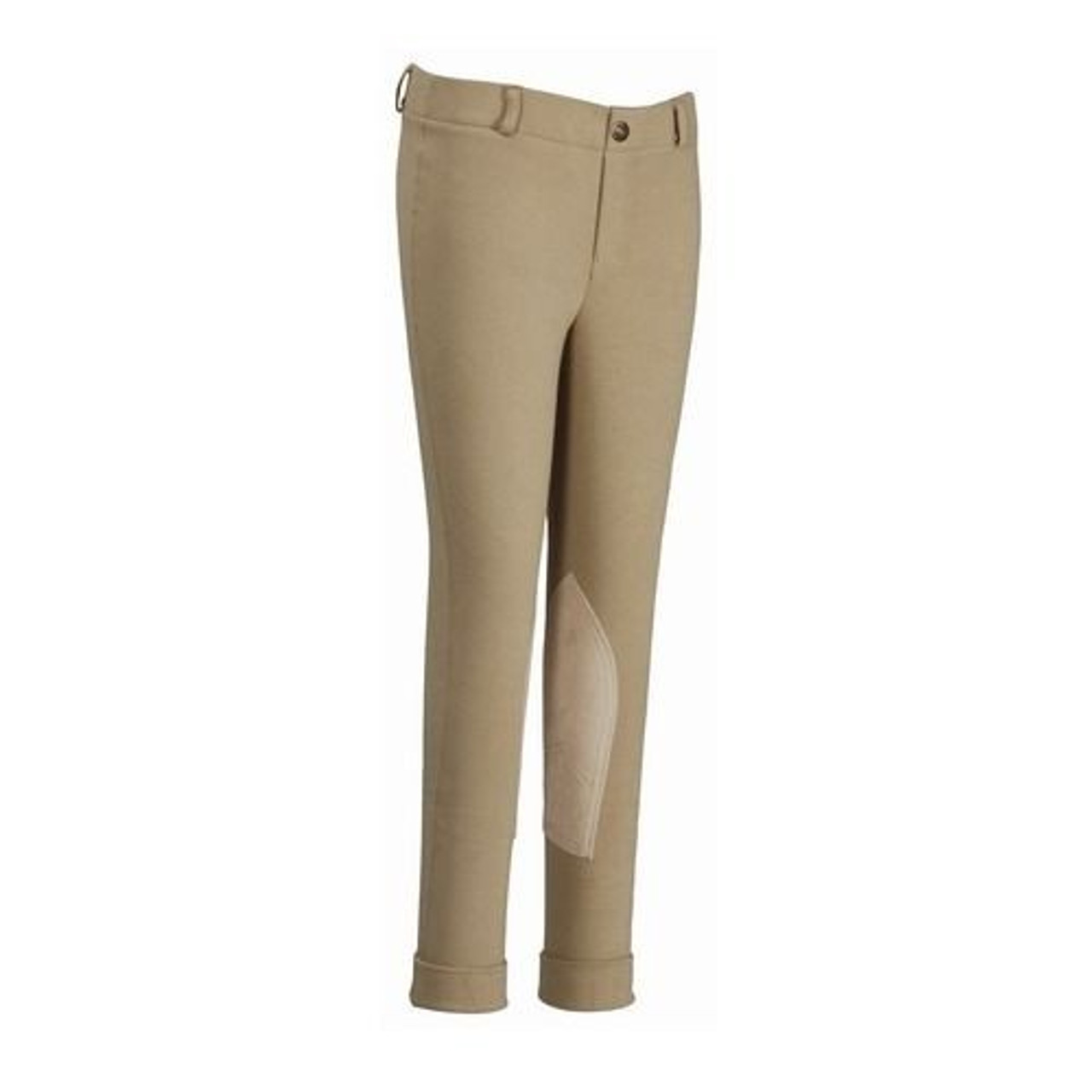Color:Tan Size:10 EquiStar Childs Pull On Cuff Jod