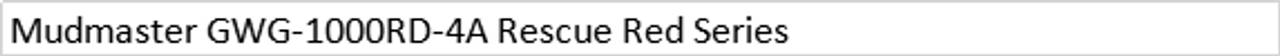 G-Shock Mudmaster Rescue Red Series GWG-1000RD-4AJF