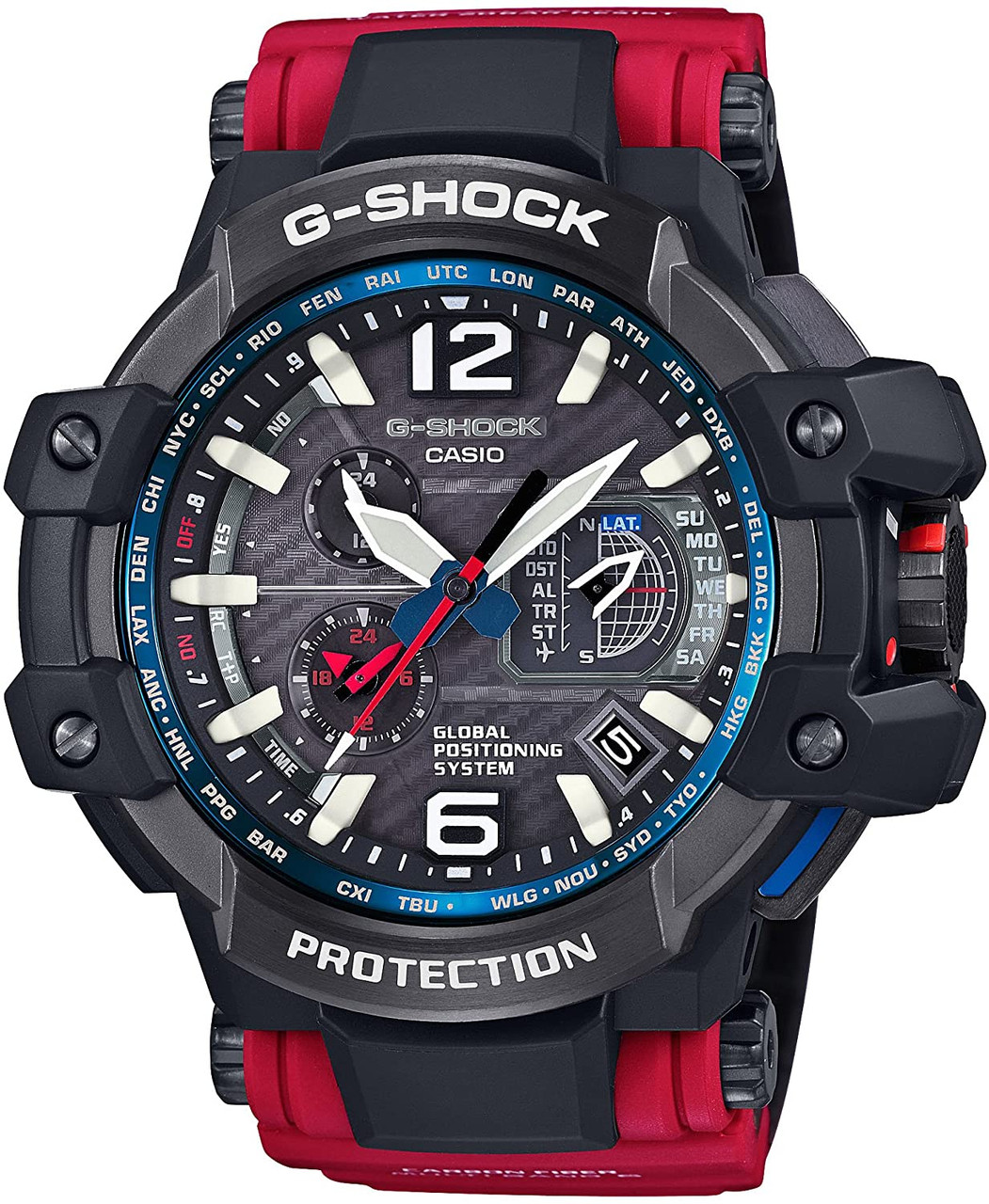 Casio GravityMaster Rescue Red Series GPW-1000RD-4AJF