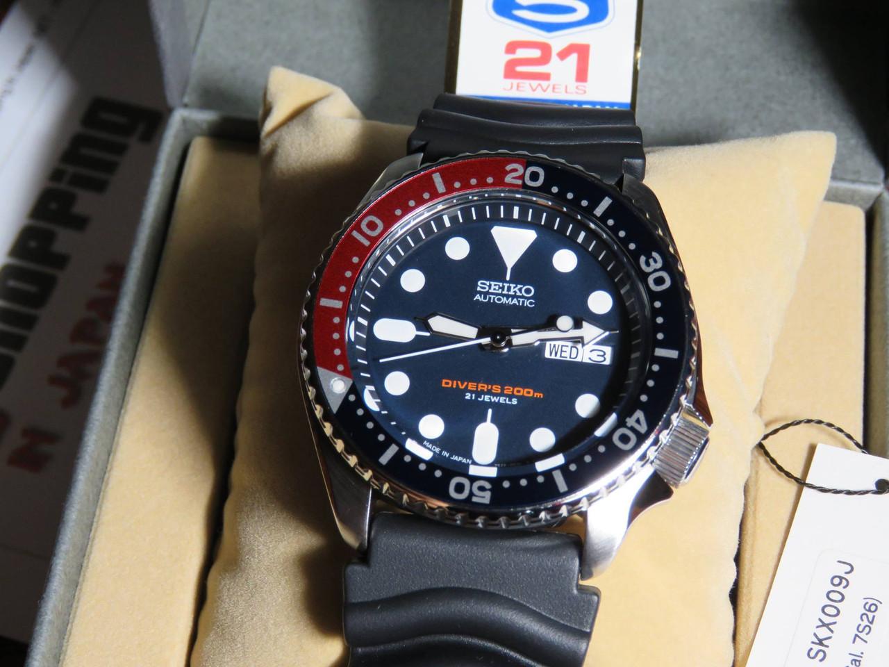 Seiko Diver's SKX009J1 Made In Japan Version