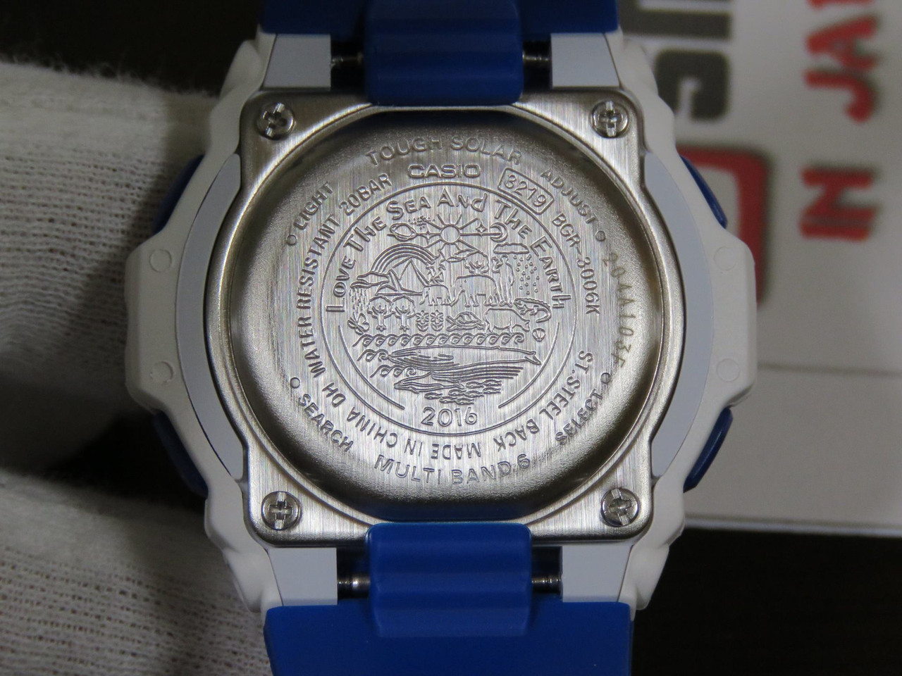 Baby-G Love The Sea And The Earth BGR-3006K-7JR