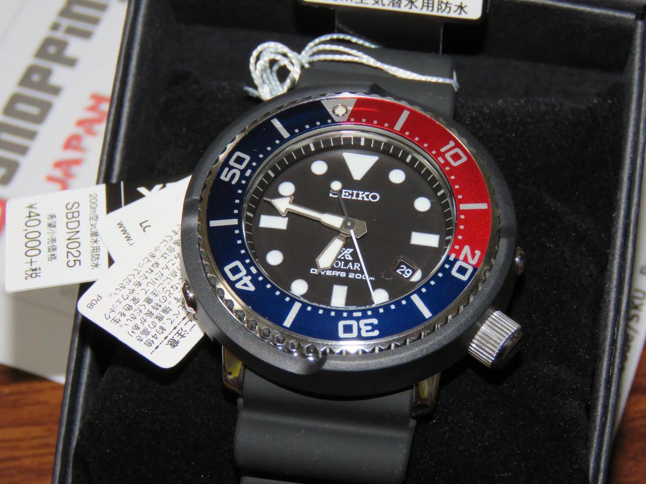 Seiko SBDN025 Prospex Scuba LOWERCASE Limited