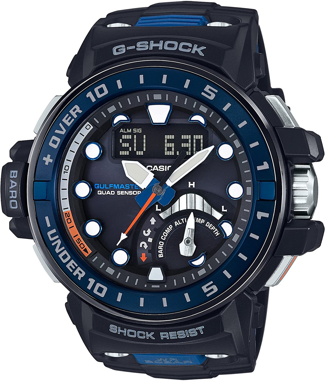 G-Shock GWN-Q1000 Gulfmaster Quad Sensors