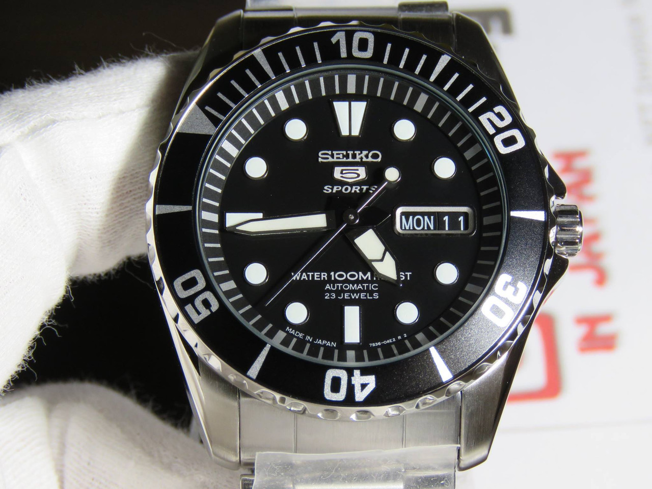 Seiko 5 Sports SNZF17J1 Made In Japan Version