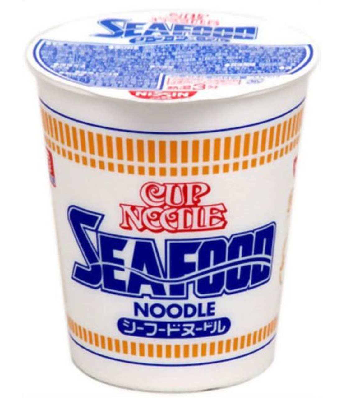 Nissin Cup Noodle Seafood Wholesale 75g × 20 pcs.