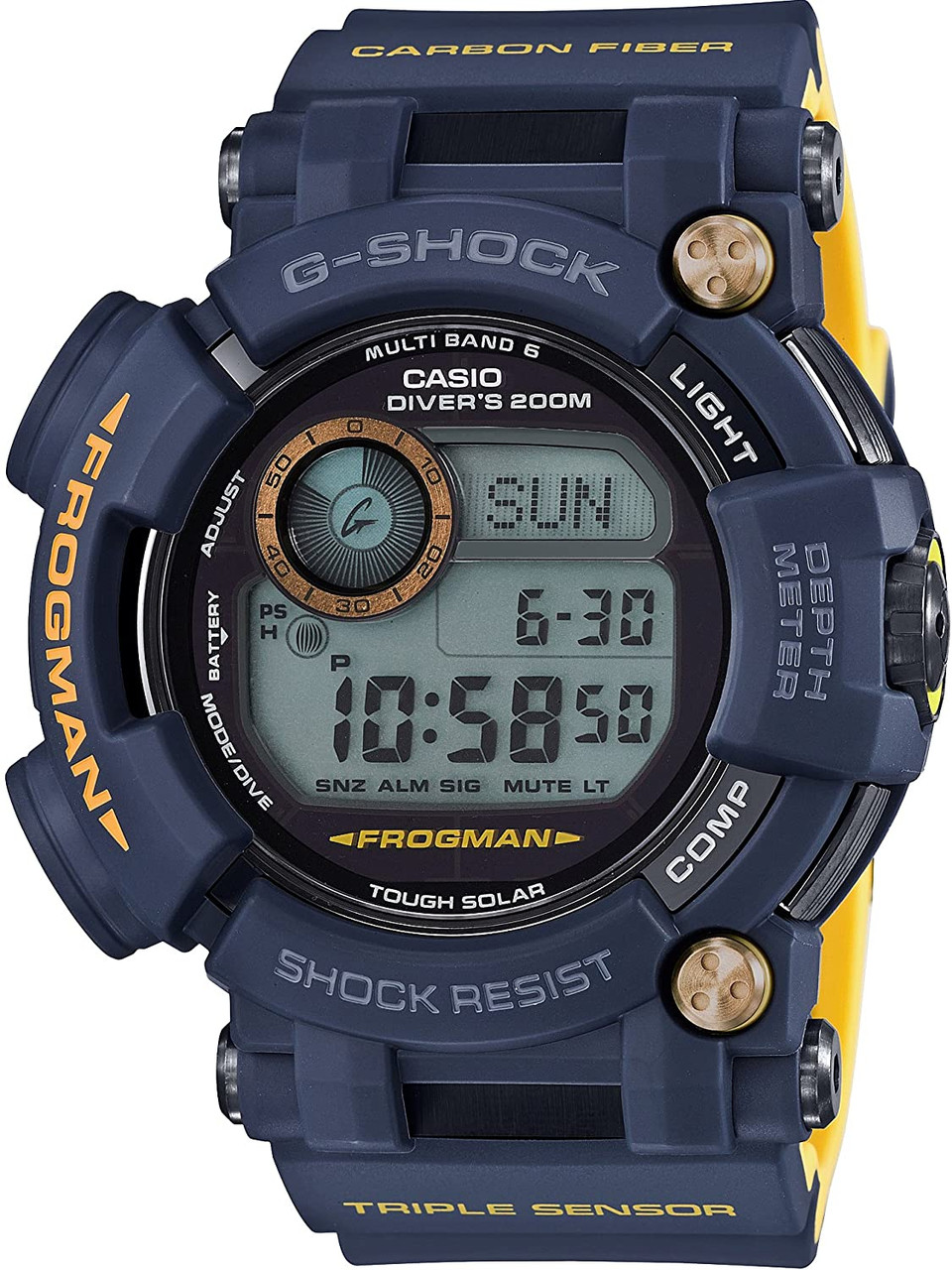 G-Shock Frogman GWF-D1000NV-2JF Master In Navy Blue