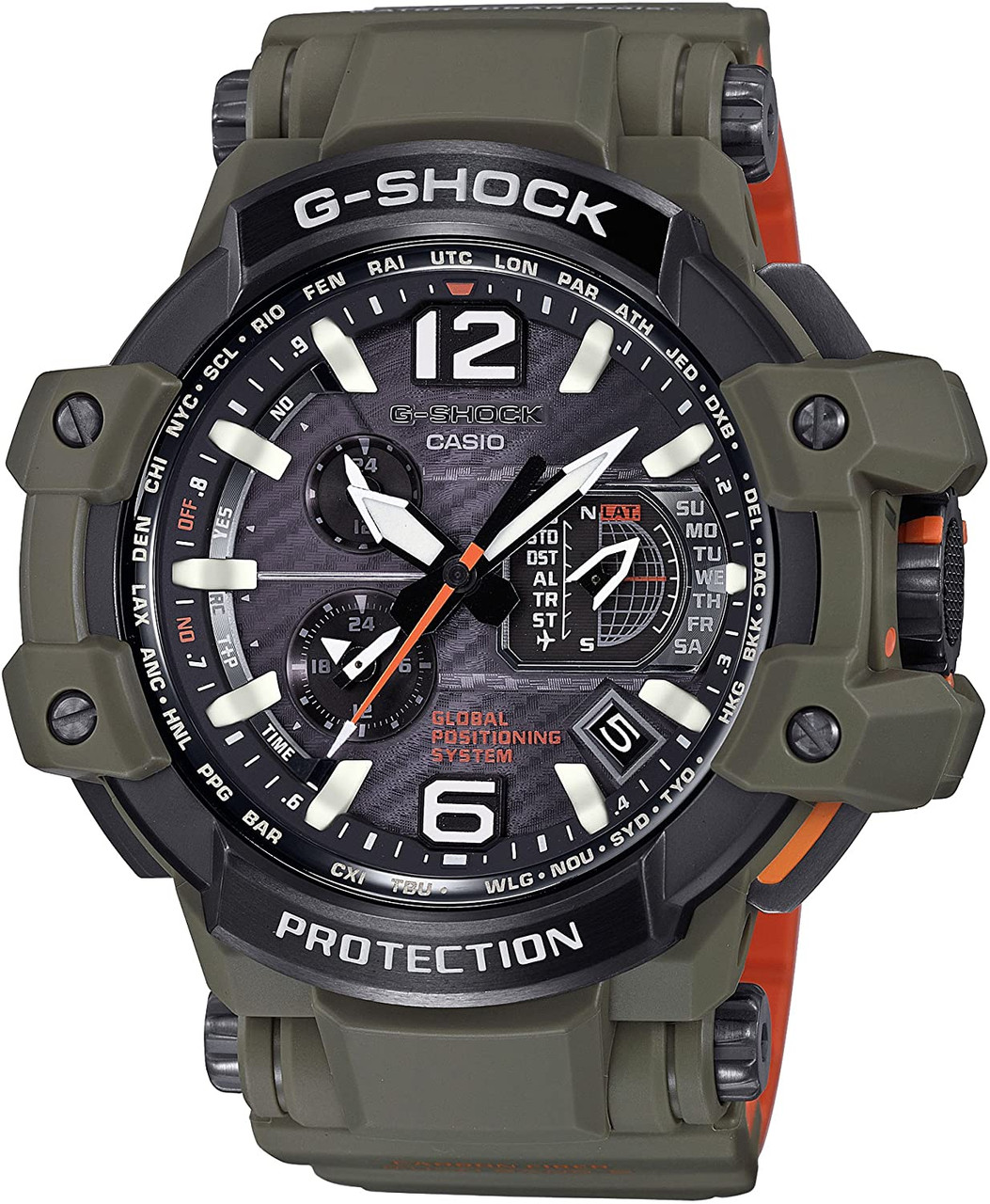G-Shock Aviation GPW-1000KH-3AJF Master In Olive Drab