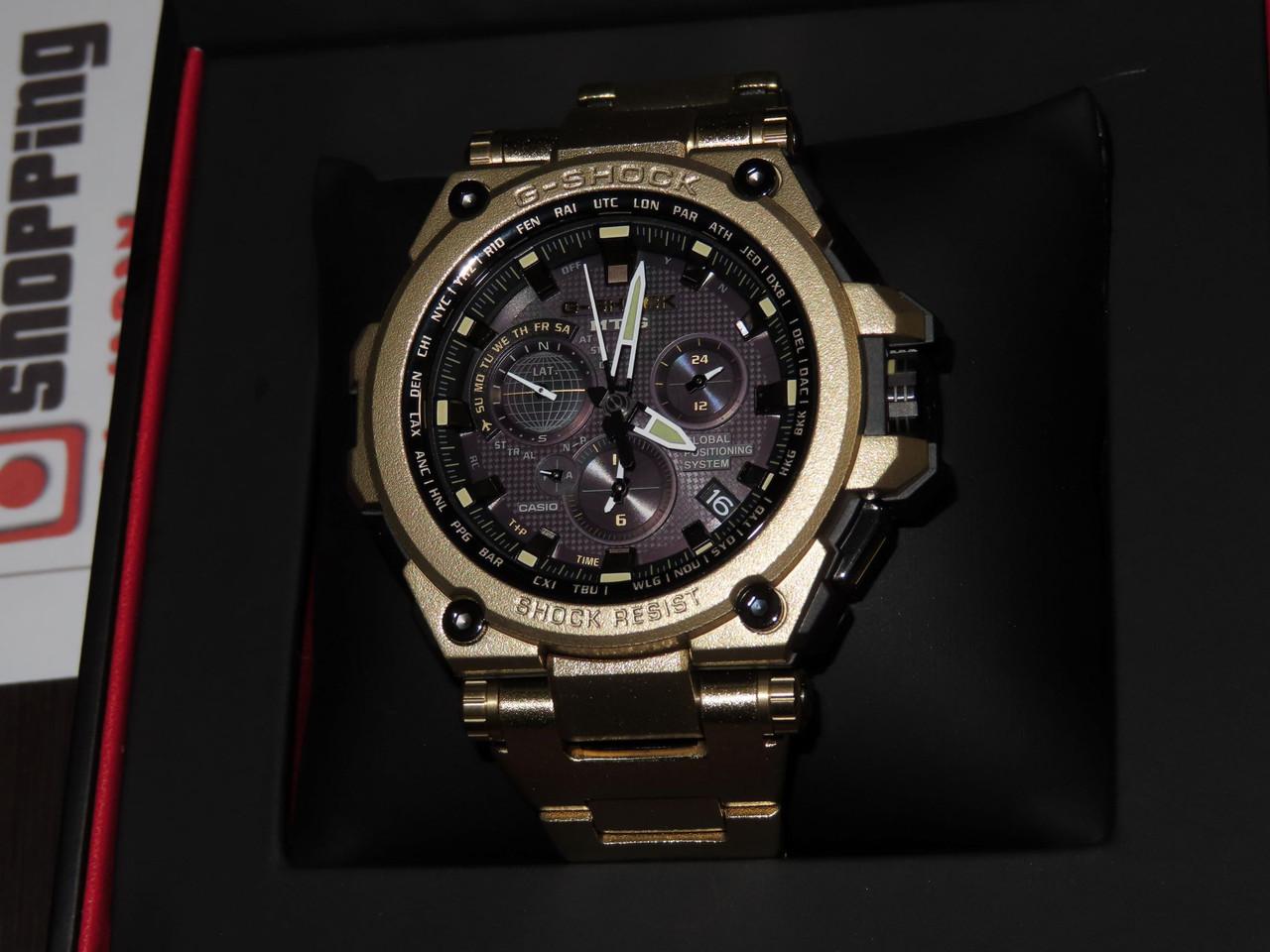 G-Shock MTG-G1000RG-1AJR Gold IP Limited Edition