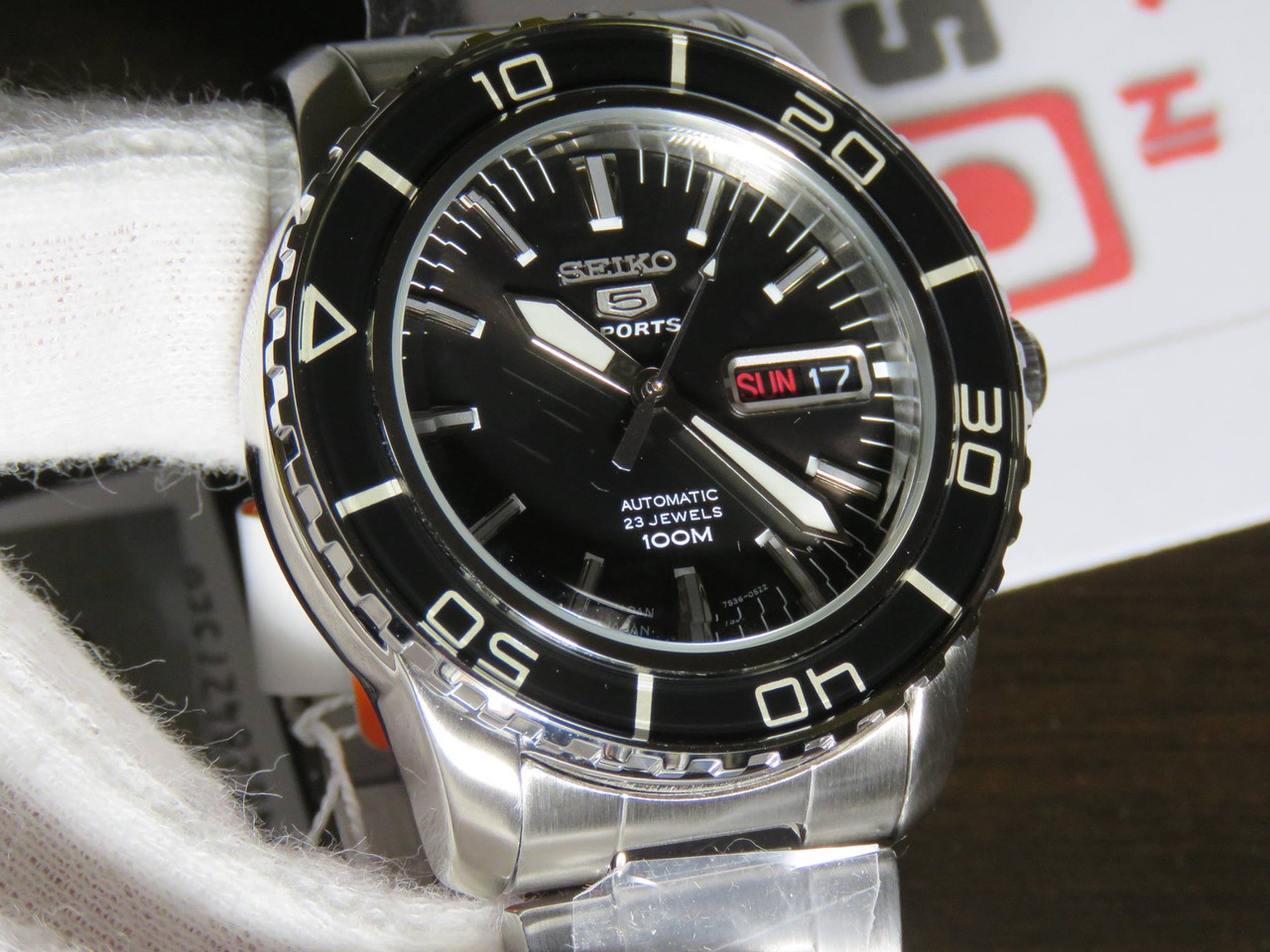 Seiko 5 Sports SNZH55J1 Made In Japan