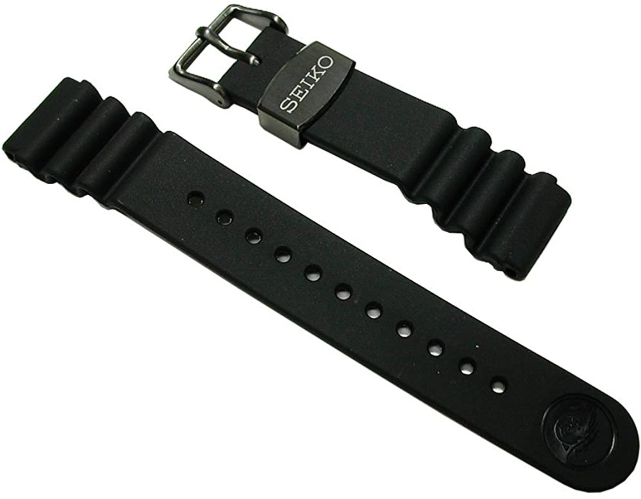 Seiko 22mm Rubber Strap DFL3EB for SBDX011 & SBBN013