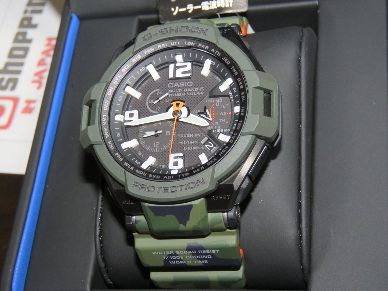 G-Shock GW-4000SC-3AJF Gravitymaster Master Olive Drab