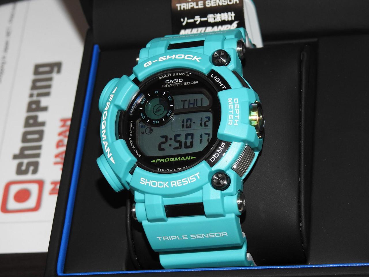 G-Shock Frogman GWF-D1000MB-3JF Master Marine Blue