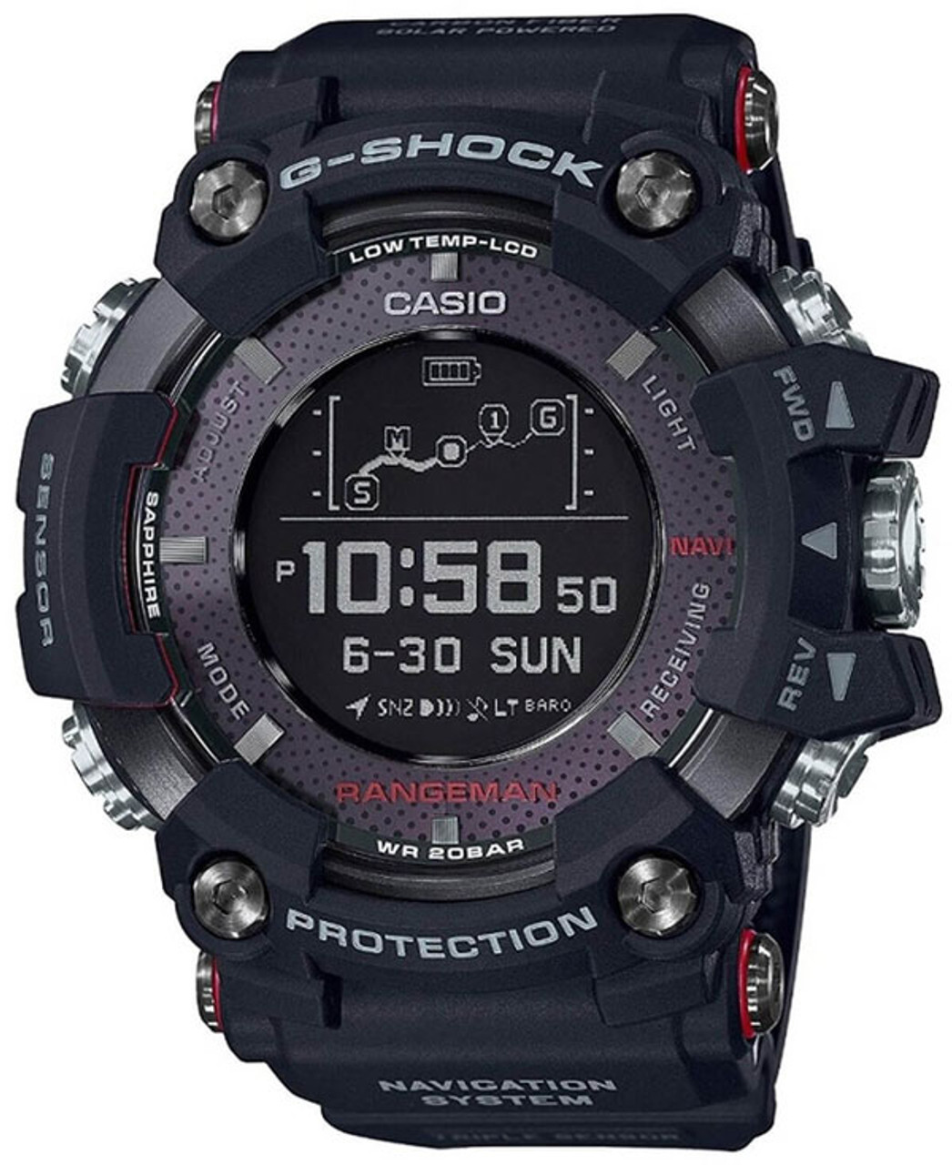 G-Shock GPS Rangeman GPR-B1000-1JR