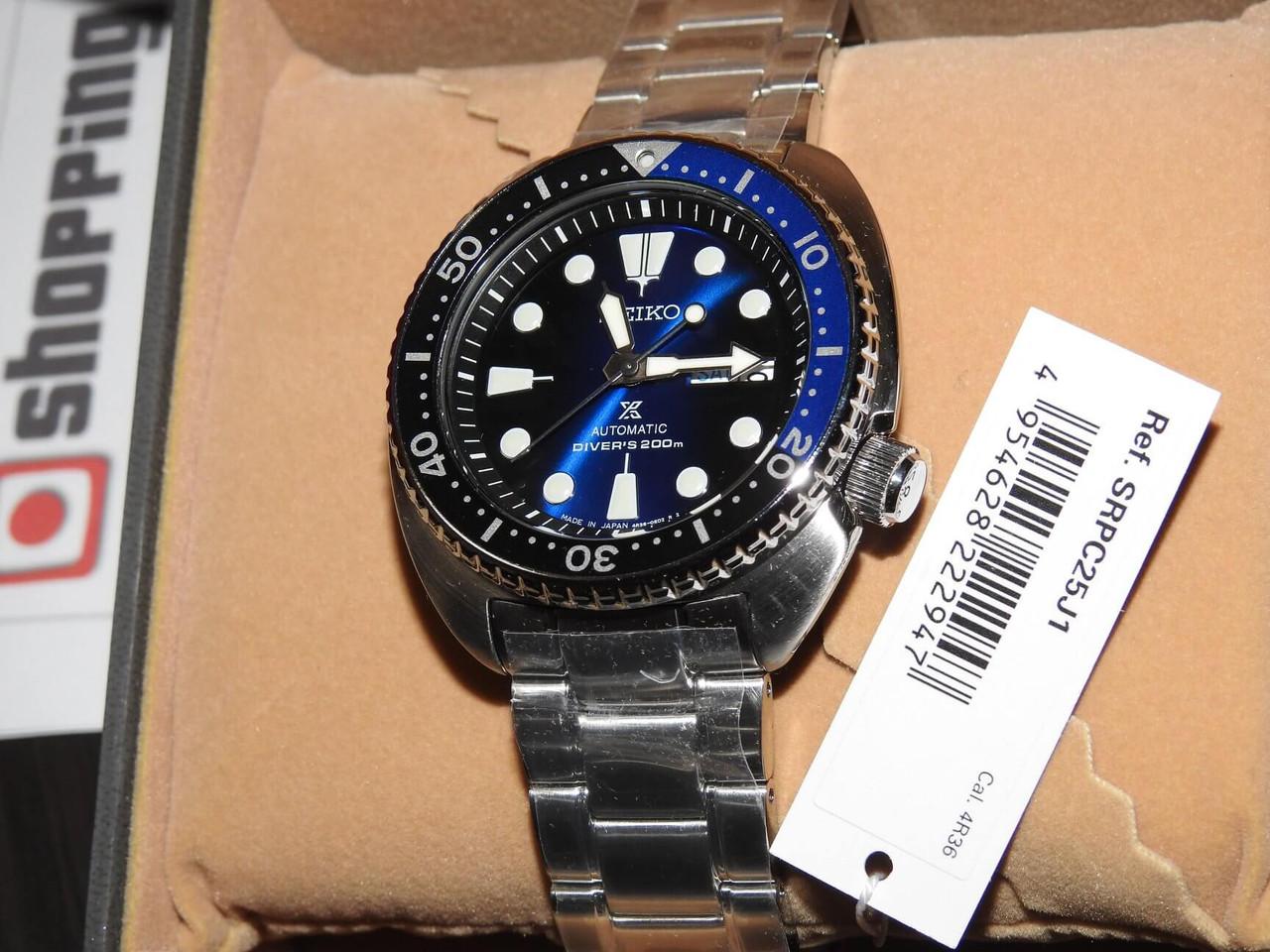 Seiko Prospex Turtle SRPC25J1 Deep Blue