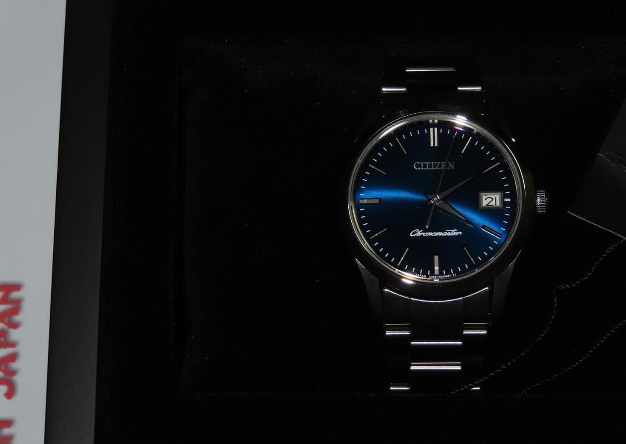 Citizen AB9000-52L Chronomaster Blue