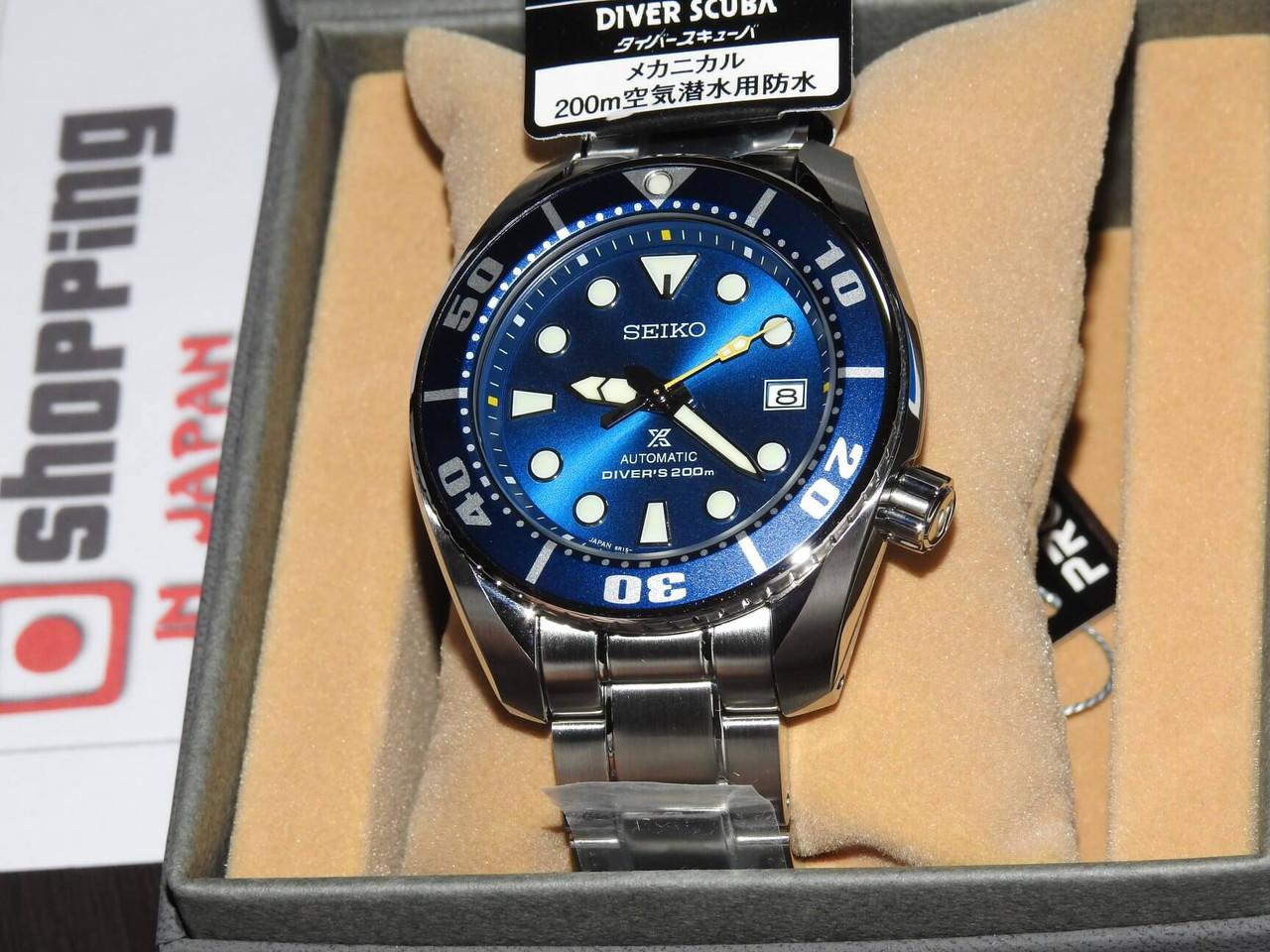 Seiko Prospex SBDC069 Blue Coral