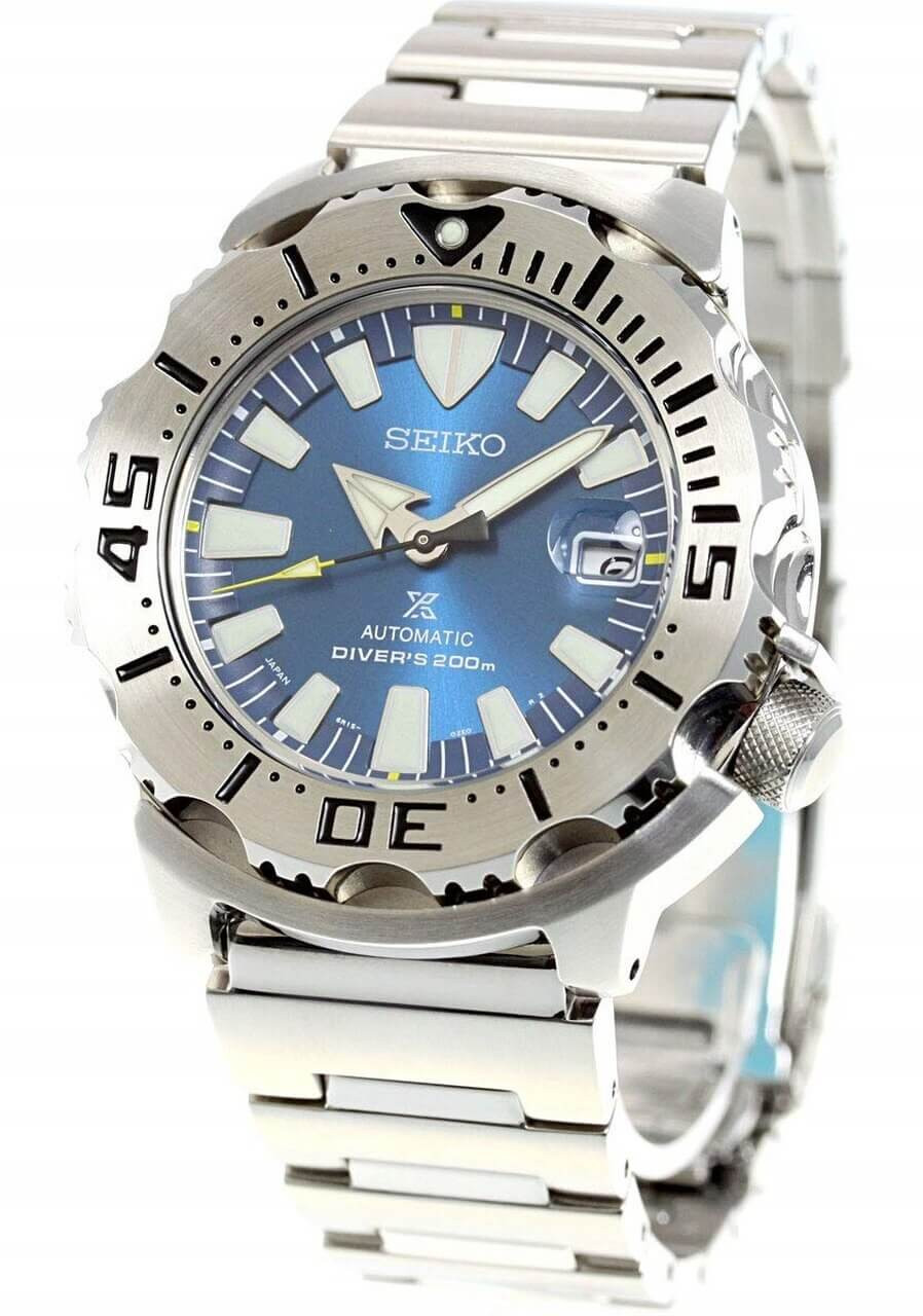 Seiko Monster SBDC067 Blue Coral Reef