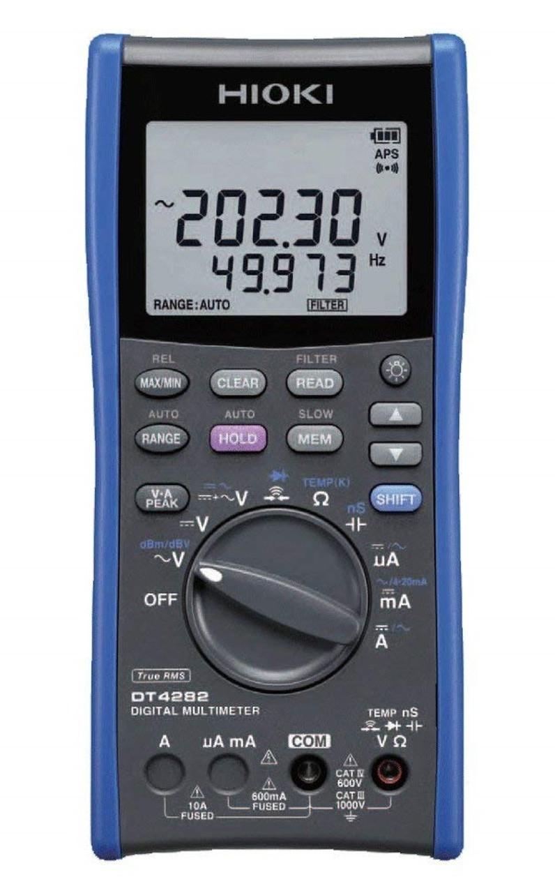 Hioki DT4282 True-RMS Handheld Digital Multimeter