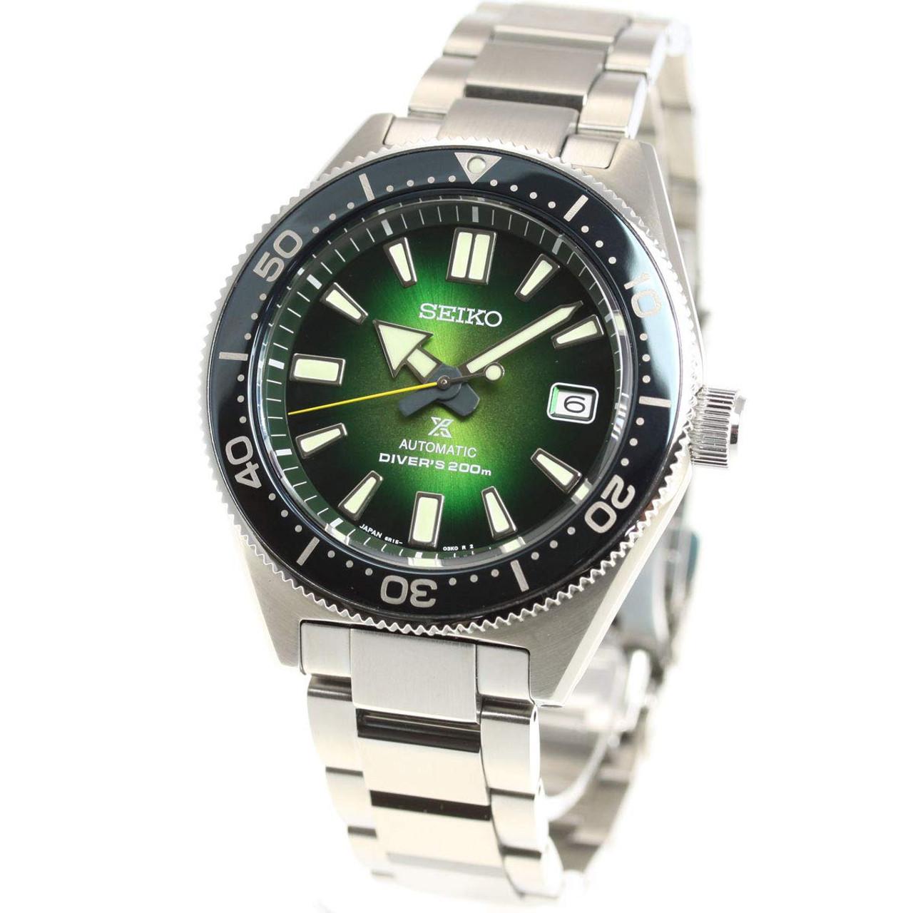 Seiko Prospex Green SBDC077 Special Edition 62MAS
