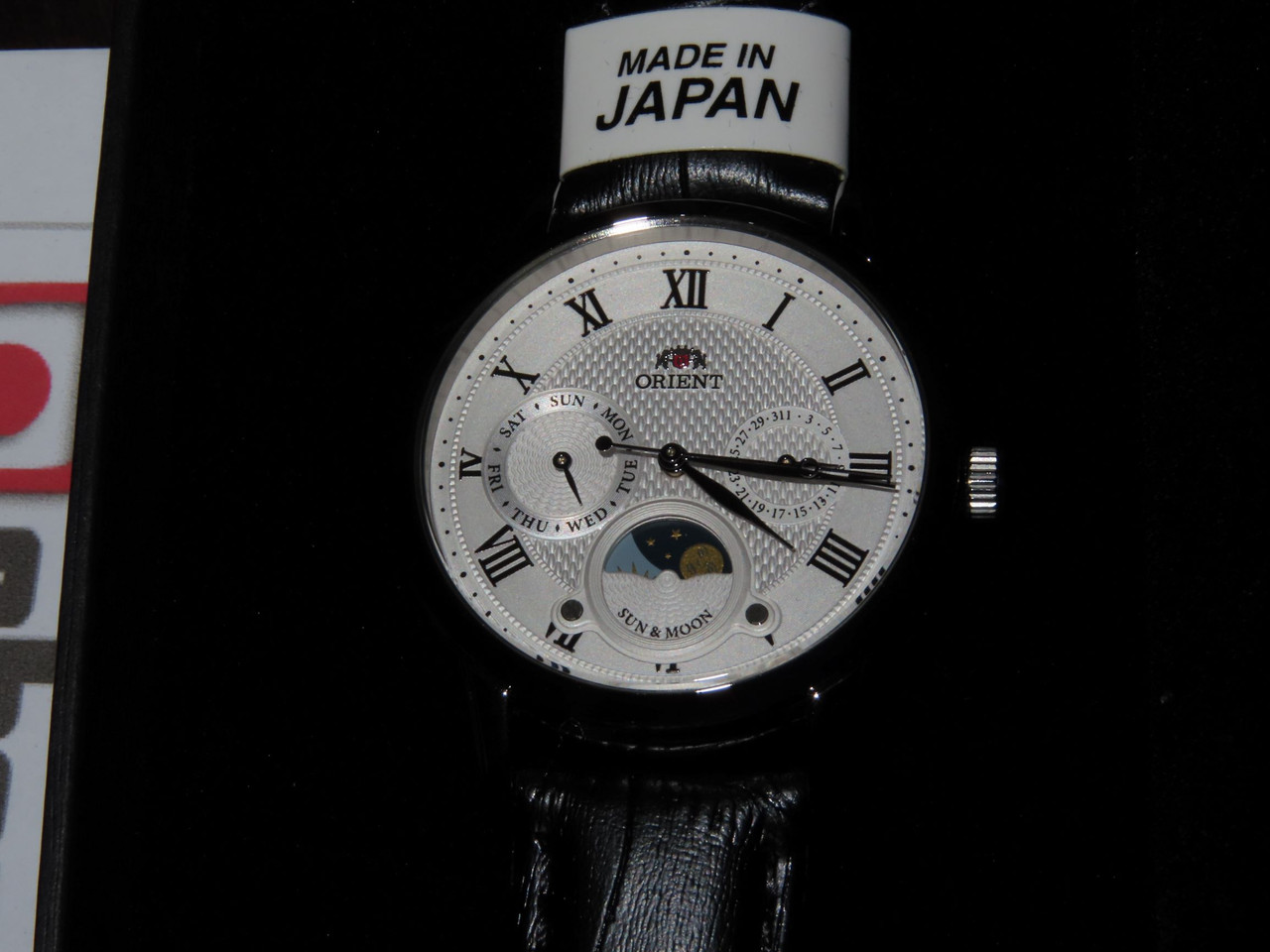 Orient Sun Moon Ladies Made In Japan RN-KA0003S