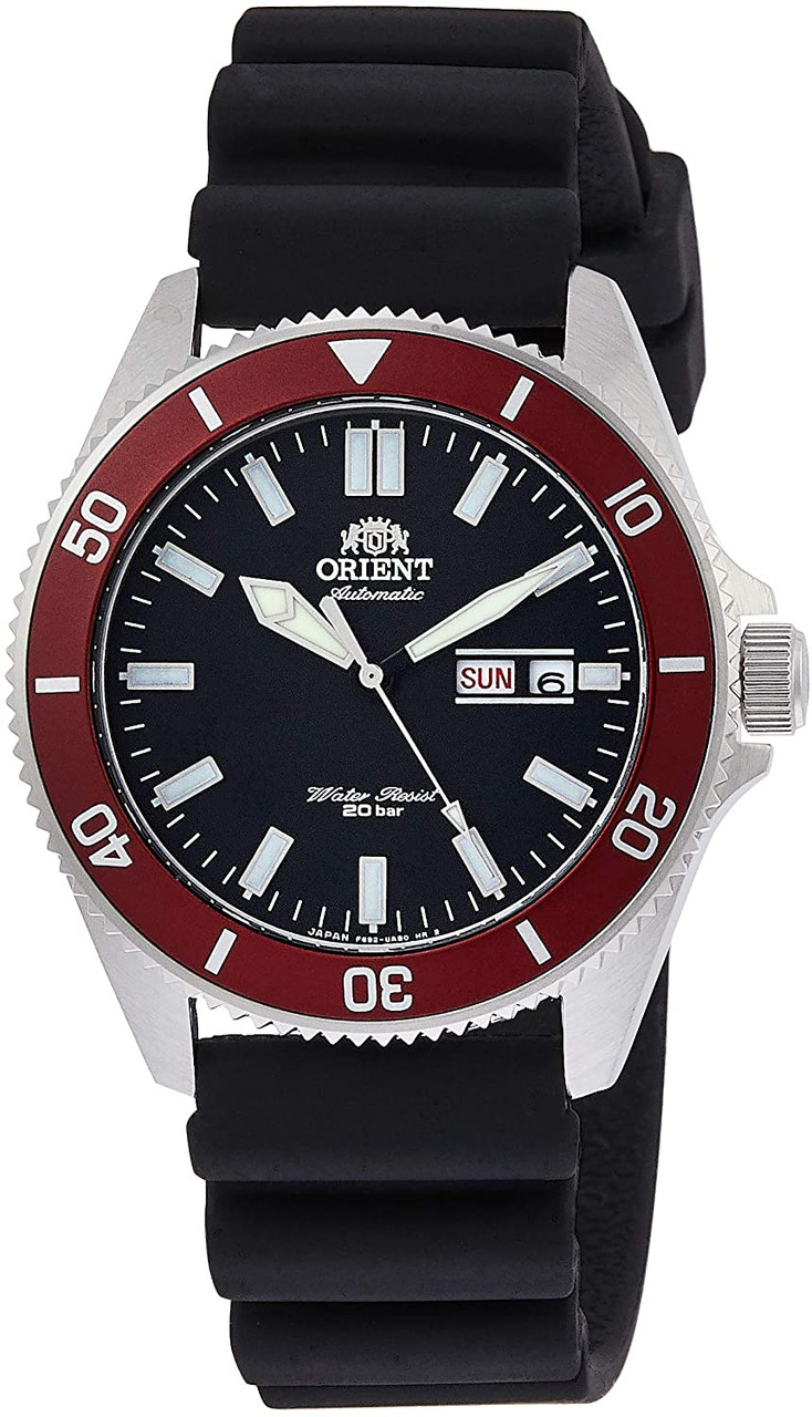 Orient Kano Red Bezel Made In Japan RN-AA0008B