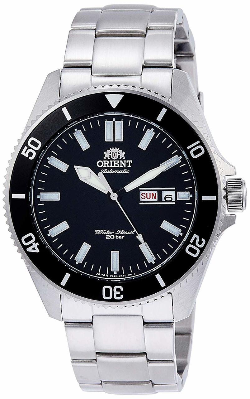 Orient Kano Black SS Sport Diver RN-AA0006B