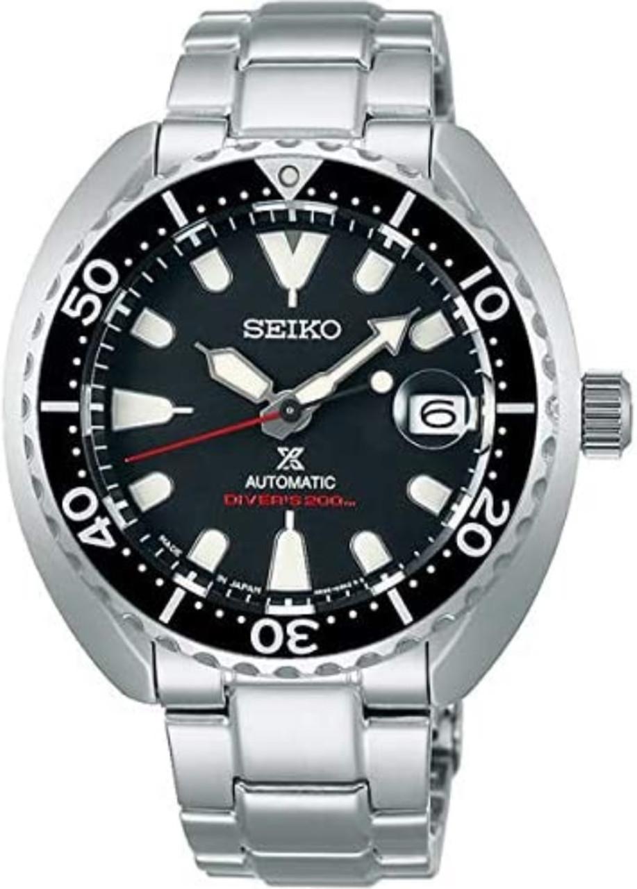 Seiko Prospex Baby Turtle 2nd Gen Black Dial SBDY085