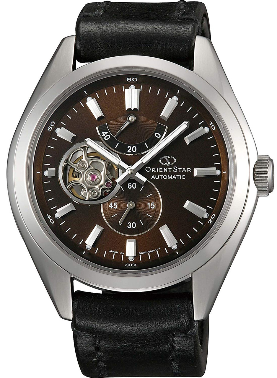 Orient Star x Somes Brown Dial WZ0111DK