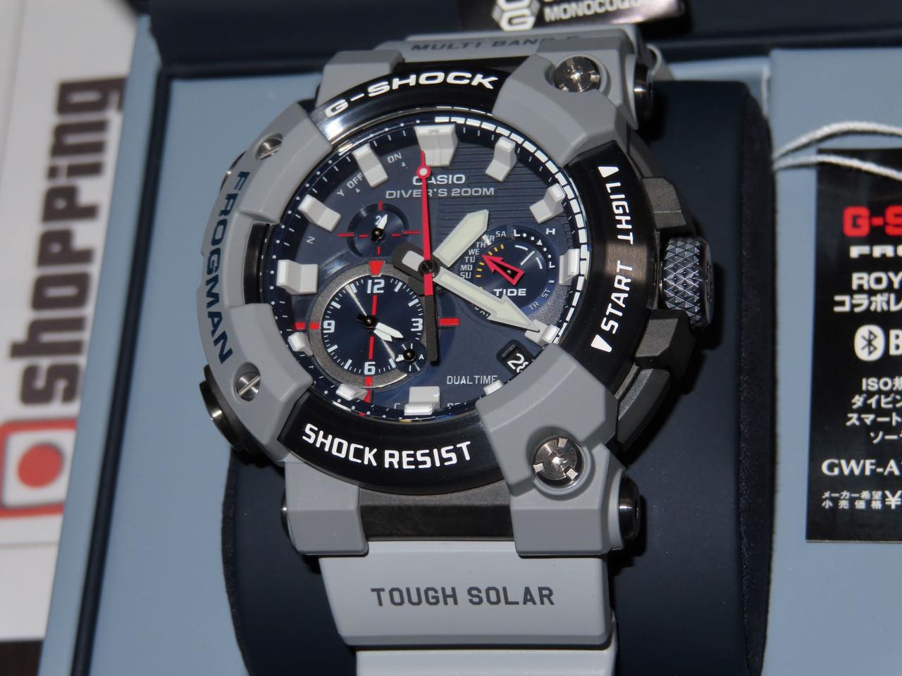 G-Shock Frogman Royal Navy GWF-A1000RN-8AJR