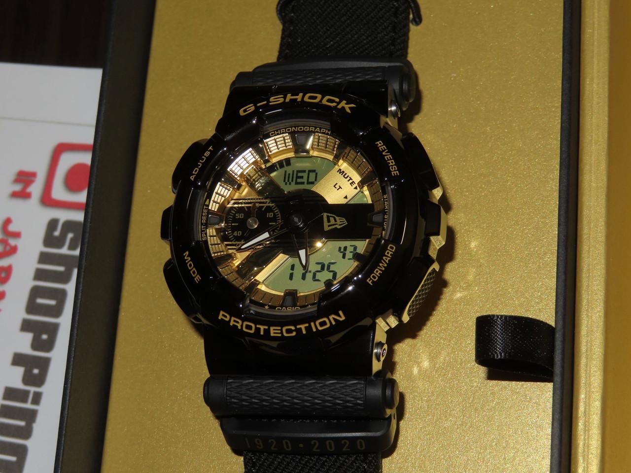 New Era x G-Shock Collaboration GM-110NE-1AJR