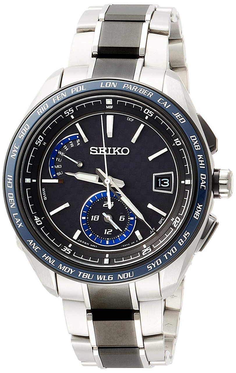 Seiko Brightz Solar Radio Titanium SAGA261