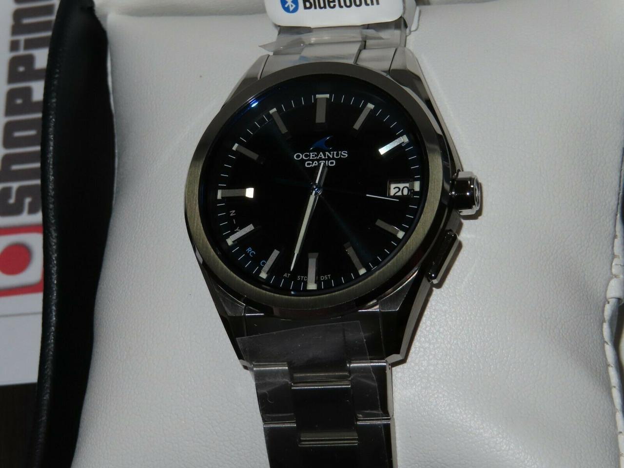 Casio Oceanus OCW-T200S-1AJF Bluetooth