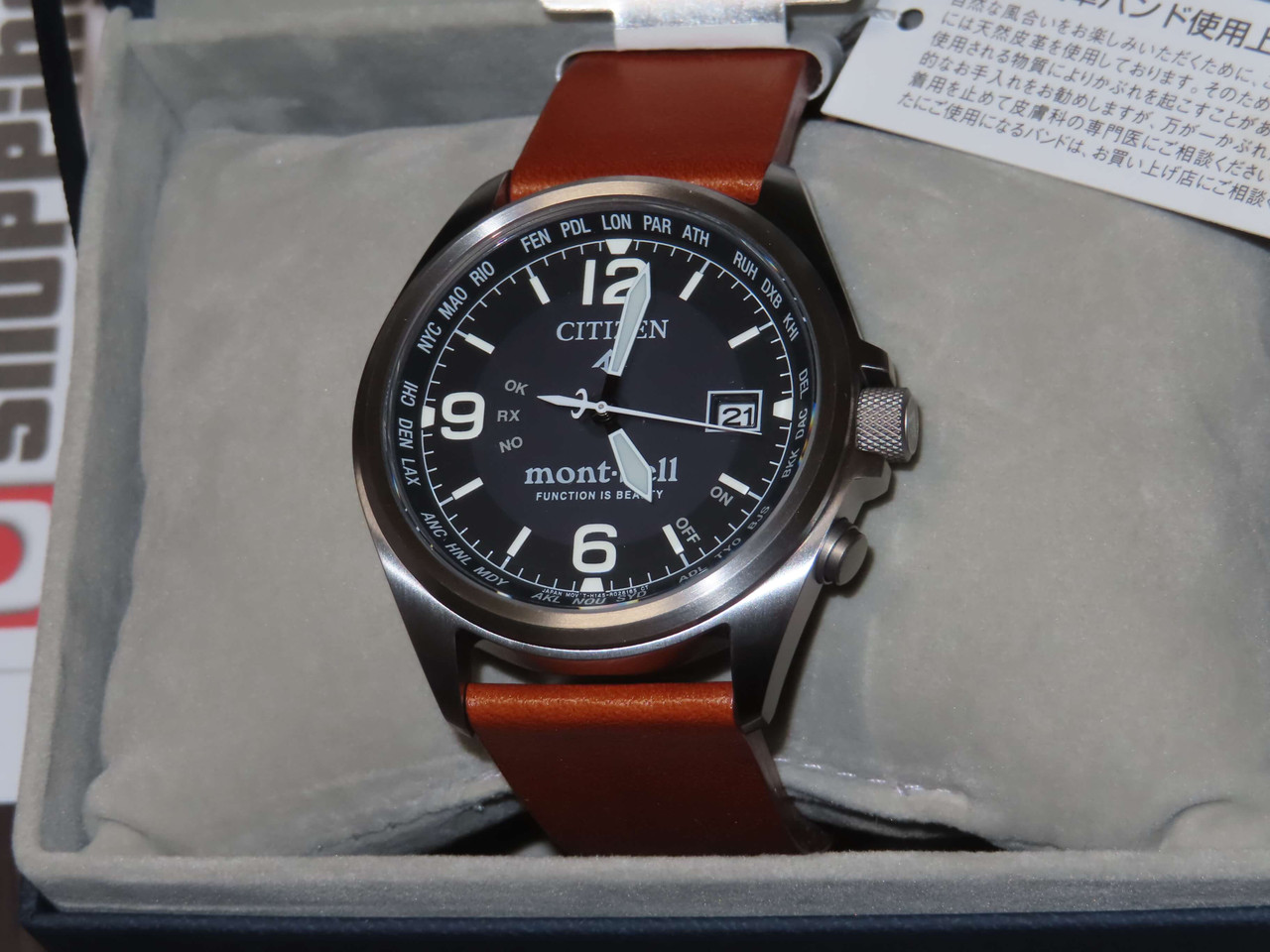 Citizen Promaster Duratect x Mont-Bell CB0171-11L
