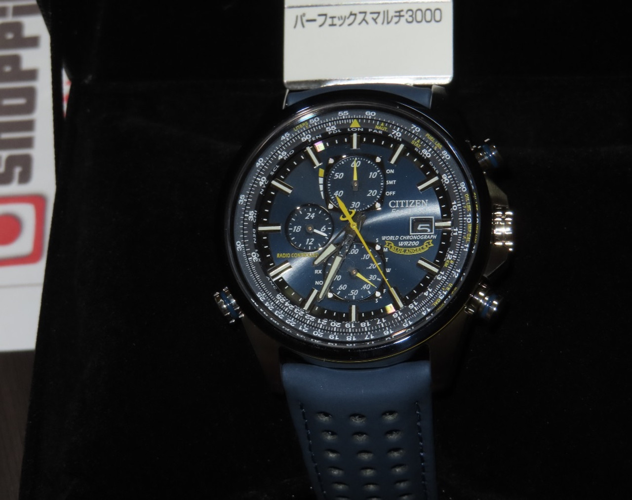 Citizen Promaster Blue Angels Radio Wave AT8020-03L