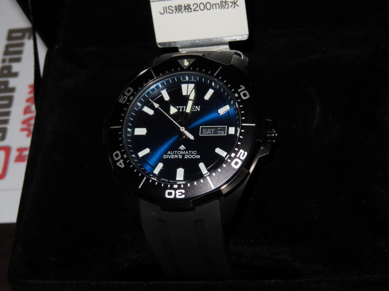 Citizen Promaster Blue Automatic Diver NY0075-12L