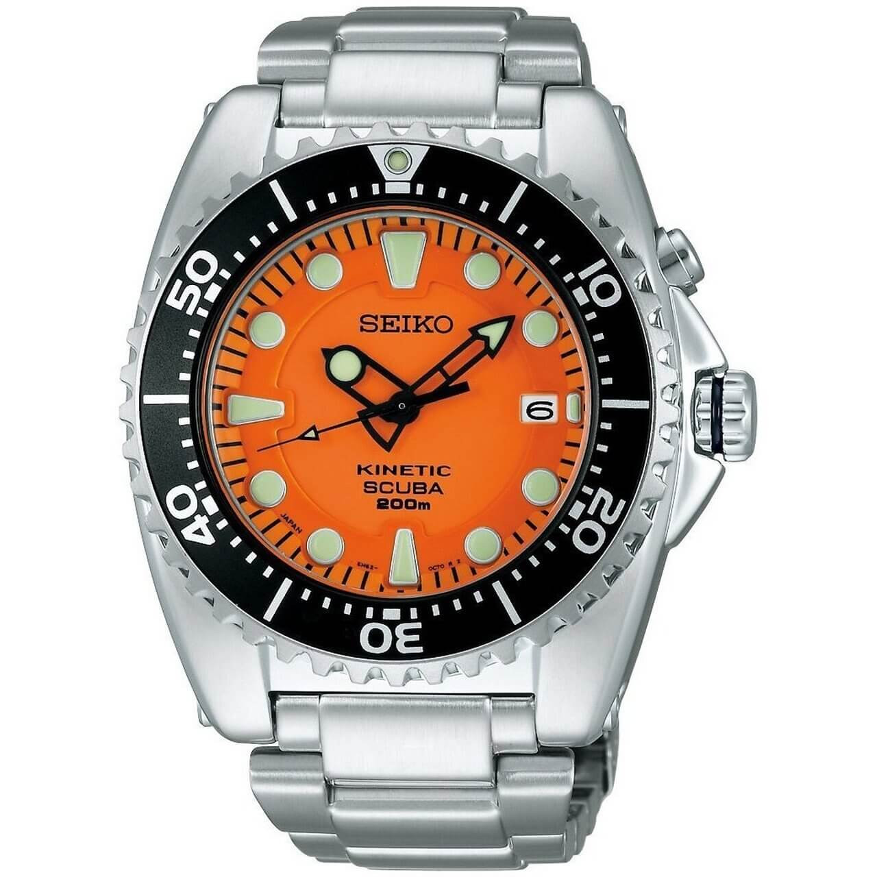 Seiko Prospex Diver Scuba SBCZ015 Orange Kinetic