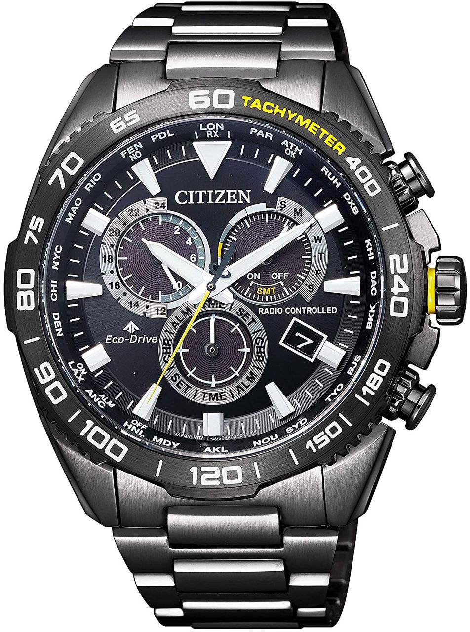 Citizen Promaster Land Tachymeter CB5037-84E