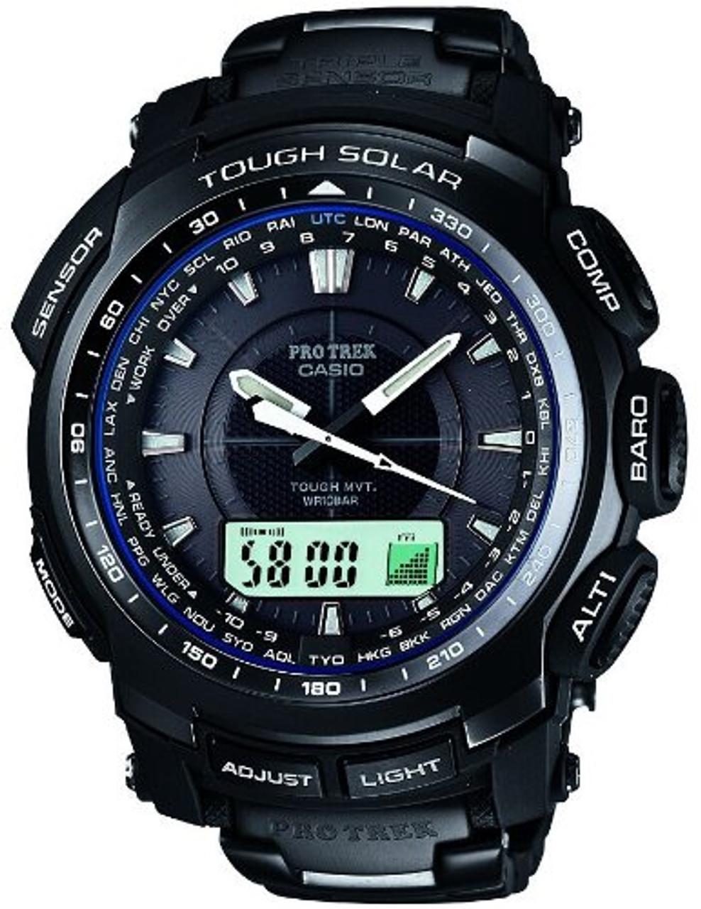 Casio Protrek PRW-5100YT-1JF Black Titan Limited