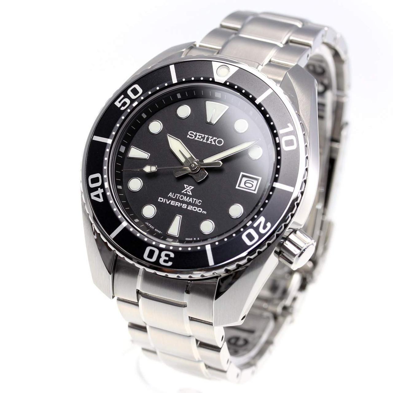 Seiko Automatic Diver 200m Silver Watch